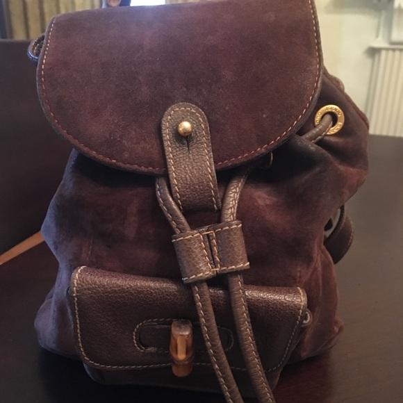 07f250e3a870ab Gucci Bags | Vintage Backpack Purse | Poshmark